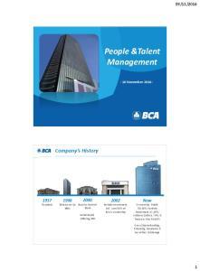 People &Talent Management