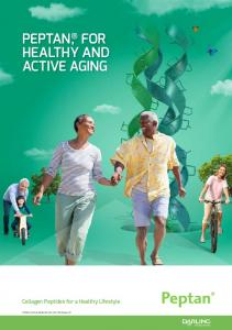 PEPTAN, FOR HEALTHY AND ACTIVE AGING