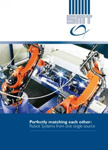 Perfectly matching each other: Robot Systems from one single source