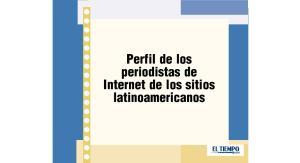Perfil de los periodistas de Internet de los sitios latinoamericanos
