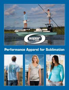 Performance Apparel for Sublimation