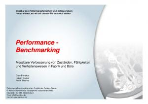 Performance - Benchmarking