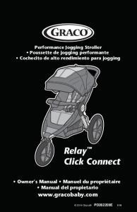Performance Jogging Stroller Poussette de jogging performante Cochecito de alto rendimiento para jogging