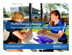 Performance Lifestyle