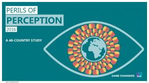 PERILS OF PERCEPTION A 40-COUNTRY STUDY PERILS OF PERCEPTION