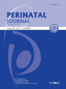 PERINATAL JOURNAL. Volume 22 Issue 1 April 2014 ISSN