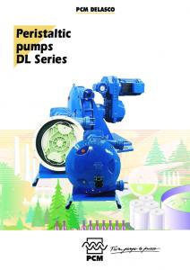 Peristaltic pumps DL Series PCM DELASCO