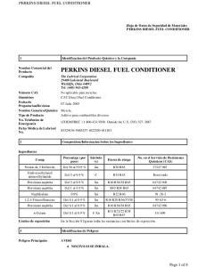 PERKINS DIESEL FUEL CONDITIONER