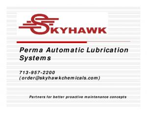 Perma Automatic Lubrication Systems