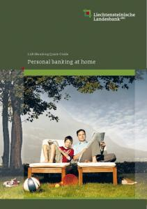 Personal banking at home