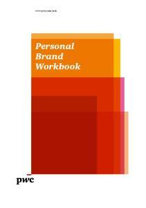 Personal Brand Workbook