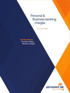 Personal & Business banking charges