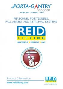 PERSONNEL POSITIONING, FALL ARREST AND RETRIEVAL SYSTEMS