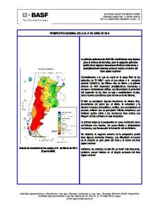 PERSPECTIVA NACIONAL DEL 8 AL 21 DE ABRIL DE 2010