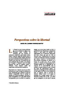 Perspectivas sobre la libertad