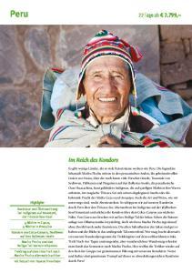 Peru 22 Tage ab 2.799,