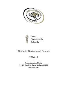 Peru Community Schools
