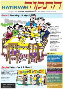 Pesach Monday 14 April