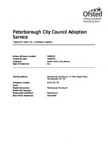 Peterborough City Council