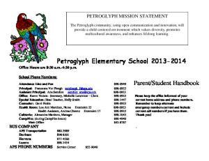 Petroglyph Elementary School