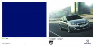 PEUGEOT 308 SW.  Dealer Stamp: