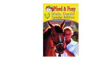 Pferd & Pony Jahre