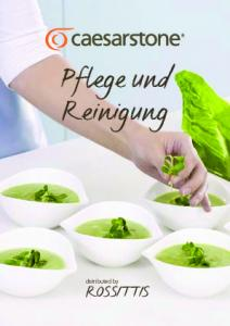 Pflege und Reinigung. distributed by ROSSITTIS