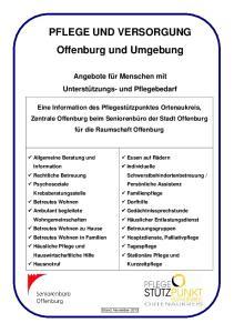 PFLEGE UND VERSORGUNG Offenburg und Umgebung