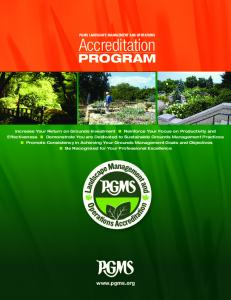 PGMS LANDSCAPE MANAGEMENT AND OPERATIONS