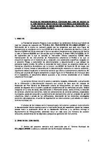 P.G.O.U. DEL MUNICIPIO DE VILLAQUILAMBRE