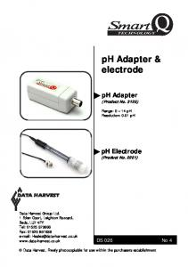 ph Adapter & electrode