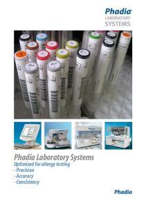 Phadia Laboratory Systems