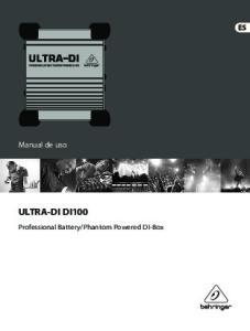 Phantom Powered DI-Box