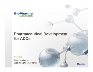 Pharmaceutical Development for ADCs