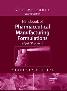 Pharmaceutical Manufacturing Formulations