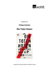 Philipp Oehmke Die Toten Hosen
