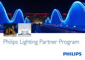 Philips Lighting Partner Program