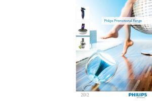 Philips Promotional Range. Philips Promotional Range