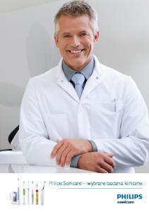 Philips Sonicare wybrane badania kliniczne