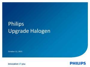 Philips Upgrade Halogen. October 12, 2015