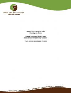 Phillips, Salmi & Associates, LLC Certified Public Accountants