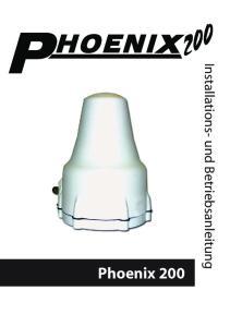 Phoenix 200. Installations- und Betriebsanleitung