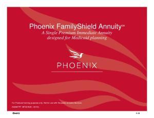 Phoenix FamilyShield Annuity SM