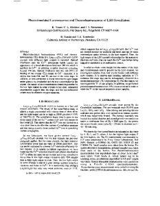 Photostimulated Luminescence and Thermoluminescence of LSO Scintillators
