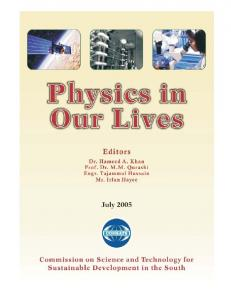 Physics in Our Lives