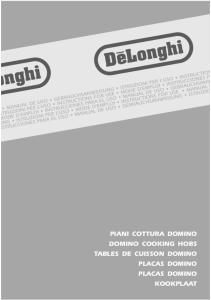 PIANI COTTURA DOMINO DOMINO COOKING HOBS TABLES DE CUISSON DOMINO PLACAS DOMINO PLACAS DOMINO KOOKPLAAT