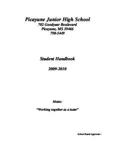 Picayune Junior High School