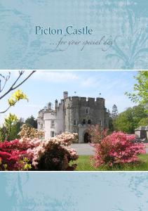 Picton Castle....for our special da