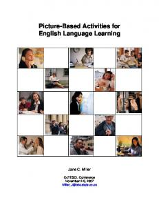 Picture-Based Activities for English Language Learning