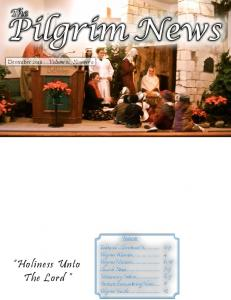 Pilgrim News. Holiness Unto The Lord. The , ,